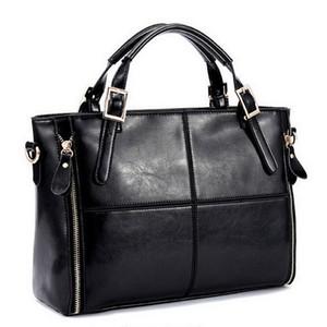 Moda patchwork designer gado dividir sacos de couro mulheres bolsa marca senhoras de alta qualidade sacos de ombro mulheres saco WLHB974