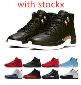 2020 12s Midnight Black Reverse Taxi Game Royal FIBA мужская баскетбольная обувь с коробкой 12s кроссовки Кроссовки тренер обувь бесплатная доставка
