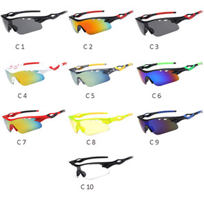 womens mens riding sung glasses discolor Cycling Outdoor Sport Sunglasses for women UV400 Goggles sunglass for Mountain Road Bike Bicycles