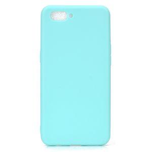 Cubierta del color del caramelo para la caja de OPPO A5 Soft TPU Ultathin Designer Mobie Phone Cases Capinha para OPPO A7
