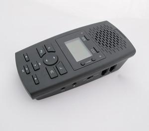 Enregistreur d'appel téléphonique fixe avec lignes analogiques numériques IP avec boîte d'enregistrement téléphonique pour répondeur / carte SD 16G / RJ9 RJ11