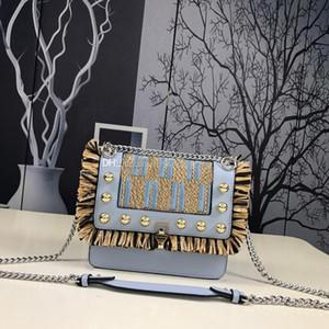 2019 di modo di marca Designer Borse Lusso Portafogli Designer Handbag Logo Crossbody Bag di buona qualità Lafite Erba in rilievo Ricamo