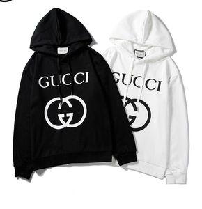 19SS Italien Menshoodies-Sweatshirts Street Langarm-Kapuzenpullover Frauen Buchstabedruck Hip Hop Pullover Anzug Kleidung der Frauen