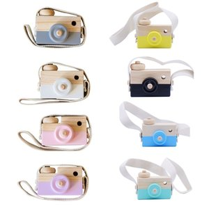2020 Cute Nordic Wooden Toys Camera Kids Hanging Camera Photo Prop Decoration Children Montessori Toys Baby Birthday Christmas Gifts