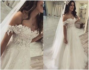 2020 Plus Size Arabic Aso Ebi Cheap Sexy Lace Beaded Beach Wedding Dresses Sweetheart A-line Bridal Dresses Vintage Wedding Gowns ZJ954
