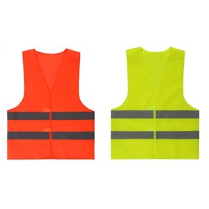 Outdoor Reflective Vest Workwear High Visibility Day Night Running Safety Vest Workwear Warning Waistcoat For Outdoor Sports #20 Running Jer