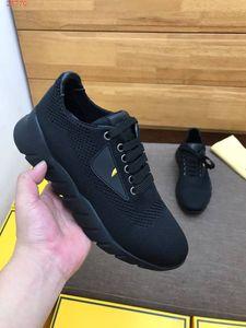 2019 Bag Bugs eyes sneaker di lusso con borchie gialle di design in maglia tecnica e scarpe alte con suola flessibile antiscivolo sneakers di alta qualità