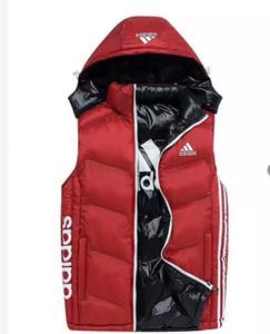 Nouveau style expédition Marque veste d'hiver Mens FreeStyle Gilet Goose Gilet Gilet Doudoune Down 4 couleurs