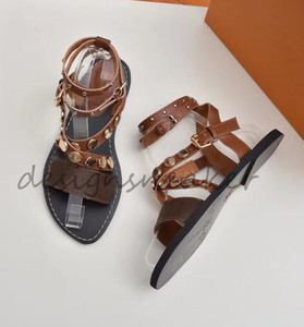 Le donne dei sandali Top Estate Scarpe diapositive Summer Fashion ampio appartamento Slippery Sandals Flip Flop Slipper Tela Plain