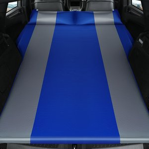 LEVORYEOU Car Automatic SUV Travel Air Bed SUV Air Mattress Portable Camping Outdoor Inflatable Sofa Automotive sleeping pad