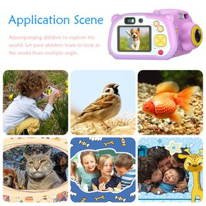 Digital Camara Kids WiFi Video Kamera Kinder Toys Camera Fotografica Mini Dual Lens Photo Camcorder For Children Birthday Gifts