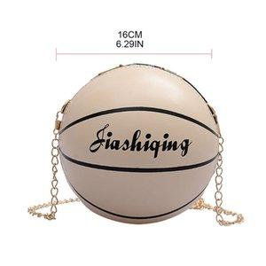 Femmes PU Basketball en cuir en forme d'épaule Lady Sac bandoulière fourre-tout Satchel