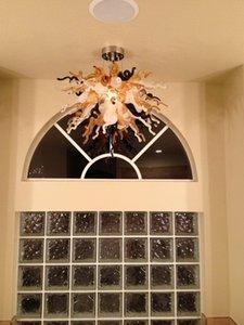 Petit Pas Cher Lustre Lumière Chambre LED Luminaire Décoration De La Maison Dale Chihuly Lustre En Verre De Murano