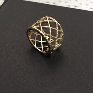 هل لديك الطوابع موضة خواتم الذهب BAGUE لسيدة حزب النساء تصميم عشاق الزفاف والمجوهرات هدية للعروس مع BOX