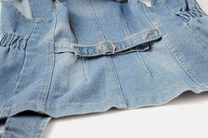 2018 Summmer моды Vintage Denim жилет для женщин безрукавки Плюс Размер 2XL рукавов джинсы