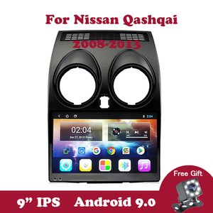 Android 9.0 Car Radio Multimedia Video Player para Nissan Qashqai 1 J10 2006-2011 2012 2013 Navegação GPS IPS 2,5 Touchscreen