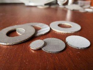 Médical Porous metal 210 microns 304 316 feuille filtrante en titane frittée 30 35 microns feuille de titane ronde poreuse frittée pure
