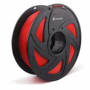 Plastica flessibile della flessione del filamento TPU della stampante 3D di Freeshipping per la stampante 3D materiali di stampa di 1.75mm 1KG 3D Colore rosso