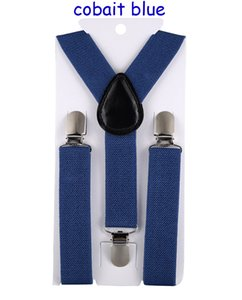 Suspenders of 20PCS Color Mixing Children Belt Baby Boys Girls Suspenders Clip-on Y-Back Braces Elastic Kids Adjustable