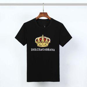 2020 nueva moda de lujo Diseño Hombre Camisetas Para Hombres camiseta con letras de verano de manga corta para hombre Tee Shirts Medusa camiseta Ropa
