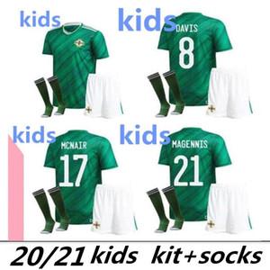 Child Thailand 2020 2021 Northern Ireland 2020 Northern Ireland Soccer Jerseys EVANS LEWIS KIDS kits football shirts maillot de foot