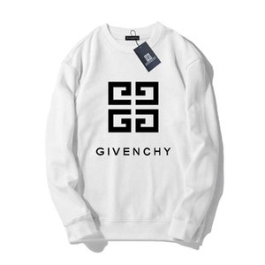 Givenchy 19SS Hommes Femmes Hommes Concepteurs Sweat-shirt à manches longues Pull Lettre Imprimer Pull Marque Streetwear Mode Sweatershirt # 21565