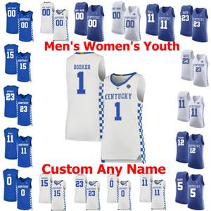 NCAA Kentucky Wildcats College Basketball Jerseys 13 Riley Welch Jersey Jamal 23 Murray 0 Ashton Hagans 14 Brennan Canadá costurado Personalizar