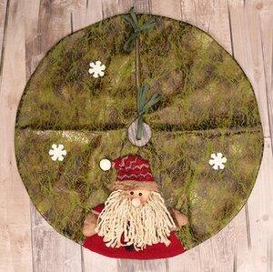 Gonna per albero di Natale da 60 cm Pupazzo di neve Famiglia Giocattoli di Natale per regalo Decorazioni natalizie per la decorazione della casa