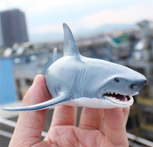 Model Marine Organism Animal Model Toy Polar Bear Killer Whales Great White Shark Fish Turtle Dolphin Blue Whale