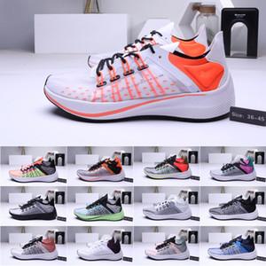 Мужские женские спортивные кроссовки Translucent Exp X14 Wmns racer черные белые кроссовки EXP-X14 Zoom Fly Trainers спортивная обувь 36-45