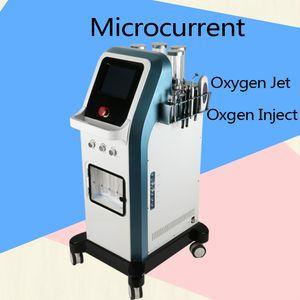 8 Bar Oxygen Jet Peel Water Dermoabrasione Tecnologia Israele 7 in 1 Hydra Facial Microcurrent Hydradermabrasion Oxgen Injector Spa Machine