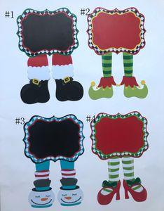 Рождество Сад Флаги Пластиковые Yard висячие Флаги Пробелы Yard Флаг Рождественские украшения сада Customized 4 Дизайн Free Shippin DSL-YW1675