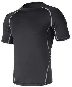 2019 men's tight clothes running short-sleeved quick-drying T-shirt 311