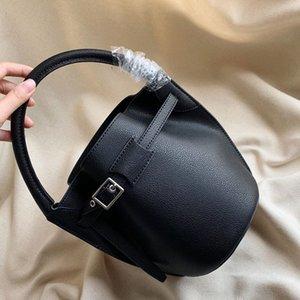 Femmes sac à bandoulière Femme Sacs à main Sacs à main en cuir véritable de haute qualité Mode ordinaire Mini Femmes Sac Retro Bucket Livraison gratuite