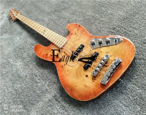 Eagle. Butterfly electric guitar, electric bass custom shop four string JAZZ electric bass custom custom tree scarf with surface