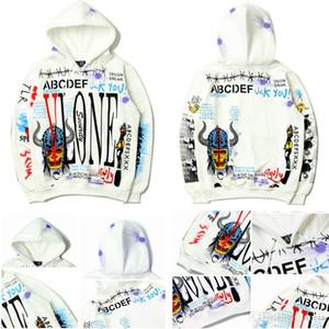 Erkek tasarımcı hoodies Rahat kazak Bahar Sonbahar Rahat Hoodies Kazak Erkekler ve Kadınlar için Trendy Baskılı Hoodie Bırak Shi