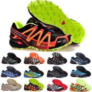 Salomon Speed Cross 3 4 2019 Sapatos de homem zapatos hombre Speed Cross 3CS III sport Sneakers Men black outdoor Athletic Speedcross Solomon running Shoes p07