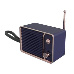 Creative mini retro bluetooth speaker portable fashion ins Nordic simple wind large volume gift small stereo