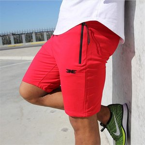 High Quality Cotton Men fitness Shorts Summer 2018 beach New Fashion The Pocket Zipper Garnish Short Pants Hot selling M-XXL Y200519