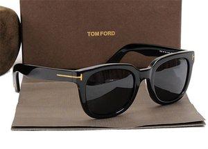 Top de luxe grande qualitay nouvelle mode 211 Tom Lunettes de soleil pour homme Femme Erika Eyewear Ford Designer Brand Sun Lunettes avec boîte originale 846
