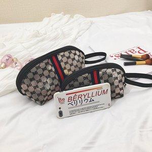 New Style Gauze Cosmetic Bag Shell Bag Dumpling Bag Handbag Small Europe And America Retro