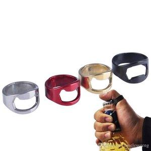 Творческий мини бутылки пива открывалка нержавеющей стали палец кольцо Открывалка Пиво Cap Вступительные Remover Кухня Гаджеты Бар Инструменты