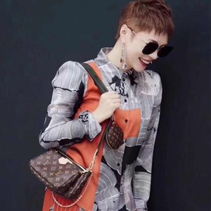 2020 pieces set New Style Luxury handbag Designers Shoulder Bags Women Crossbody Bag real Leather Handbags Purse Female Messenger with box