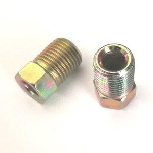 Fren Hattı Bağlantısı Çelik Fren Borusu Somunu M10x1mm Çinko Kaplama SAE No. 040110
