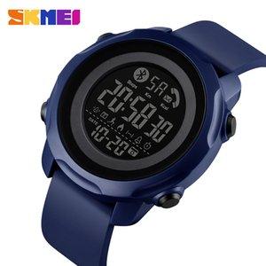 SKMEI Sport Smart Men Watch Fashion Waterproof Light Display Bluetooth App Remind Sleeping Monitor reloj inteligente 1572