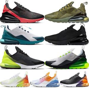 2019 270 New Parra Punch Running Shoes Hombre Mujer Triple Photo Azul Olive University Red Volt Habanero Hombre 270 Zapatillas de deporte Zapatos de diseño Talla 36-45