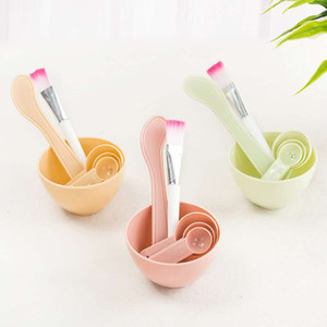 Masque visage gros bol cosmétiques Set bricolage mélange brosse cuillère Masque bâton brosse femmes maquillage beauté Set maquillage kits d'outils