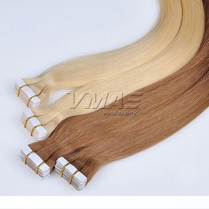 H Brazilian Straight Tape In Hair Extension Double Drawn 2 .5g Piece 40pieces Pack Skin Weft Hair Extension Virgin Human Hair