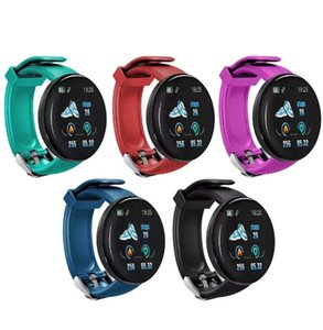 D18 Smart Watch Men Smart Bracelet Heart Rate Blood Pressure Bluetooth Smartwatch Fitness Tracker Health Wristband Waterproof