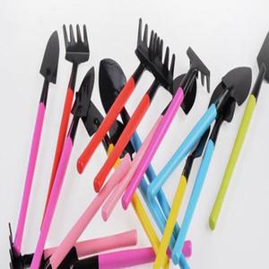 أدوات الأزياء البسيطة بوعاء صغير المجرف المجرفة الخليع 3 قطع طقم أدوات مصنع مع مجموعة ملون WY442Q مقبض خشبي